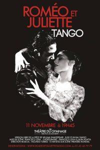 Afiche Roméo et Juliette Tango